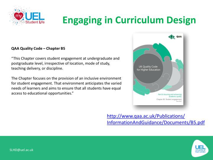 Engaging in Curriculum Design