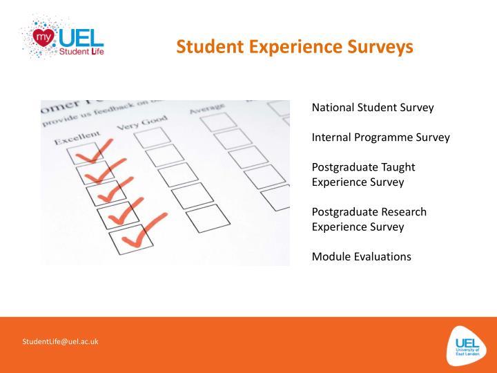 Student Experience Surveys