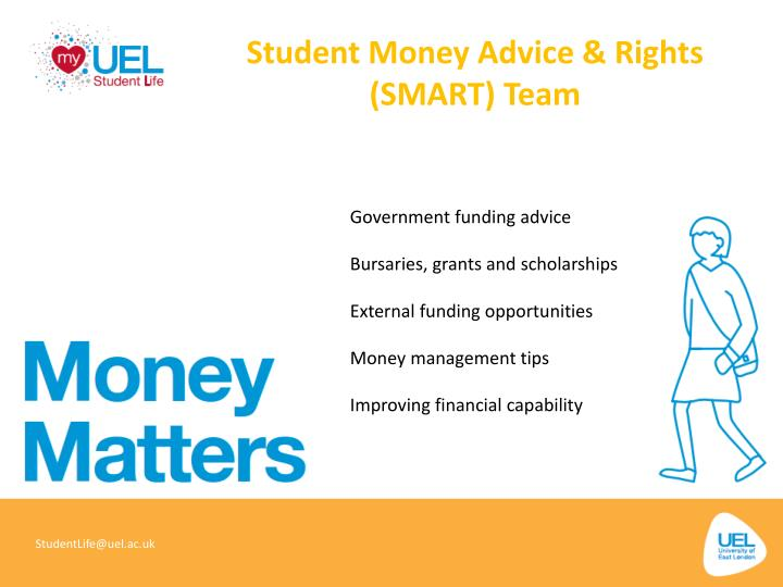 Student Money Advice & Rights (SMART) Team