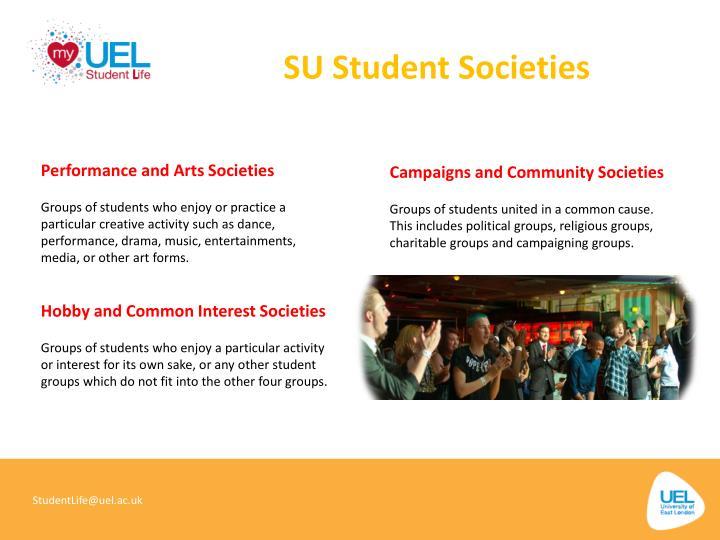 SU Student Societies
