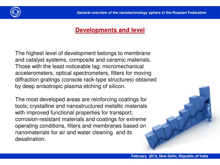 Developments and level