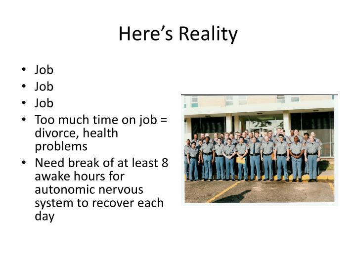 Here's Reality