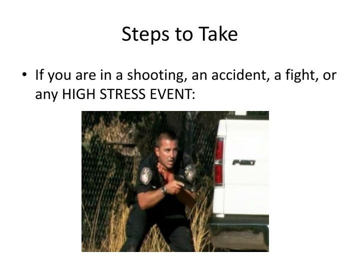 Steps to Take