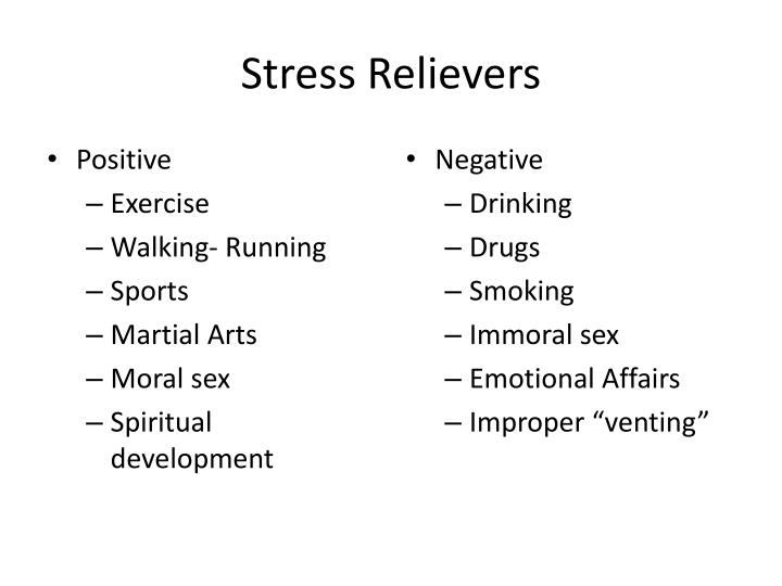Stress Relievers
