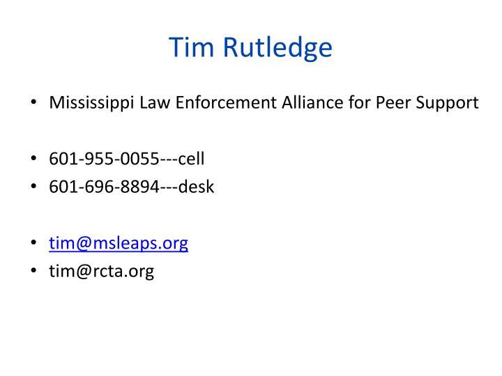 Tim Rutledge