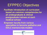 efppec objectives1