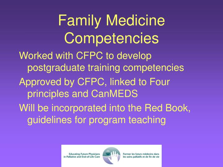 Family Medicine Competencies