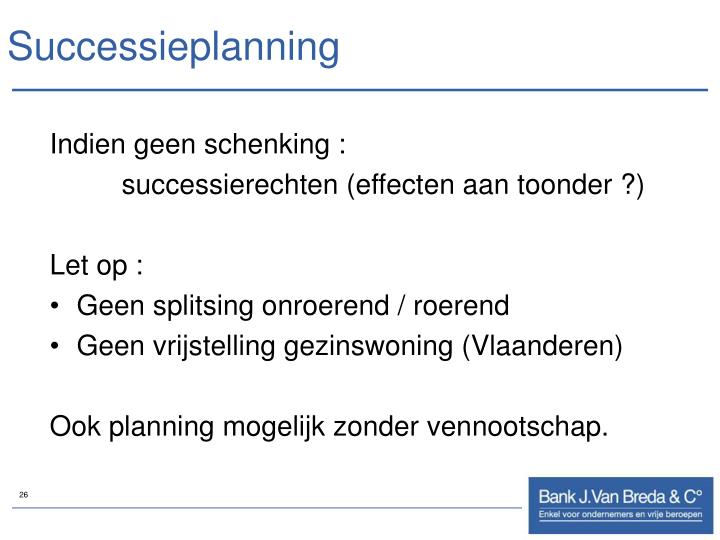 Successieplanning