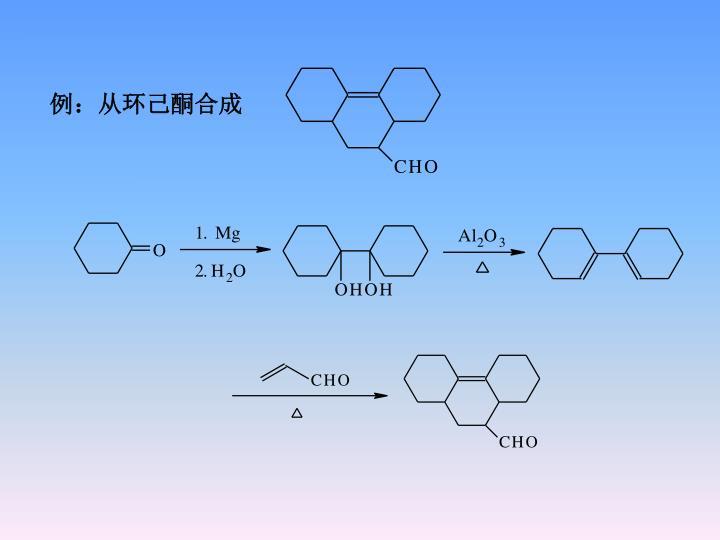 例:从环己酮合成