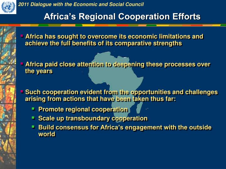 Africa's Regional Cooperation Efforts