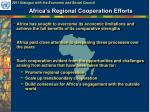 africa s regional cooperation efforts