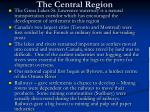 the central region