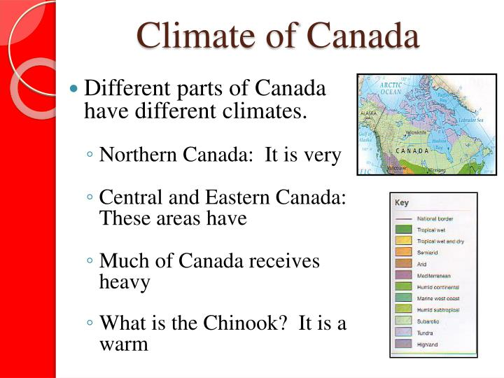 Climate of Canada