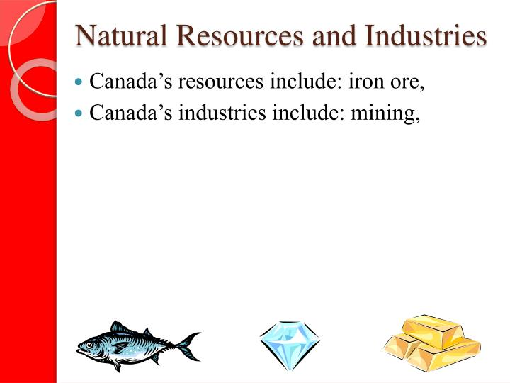 Natural Resources and Industries