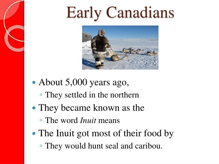 Early Canadians