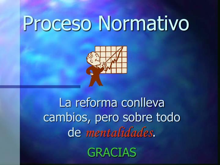 Proceso Normativo