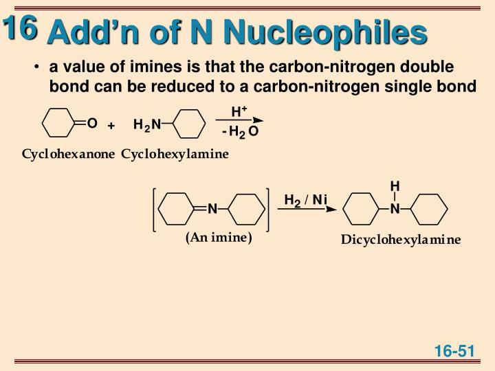 Add'n of N Nucleophiles