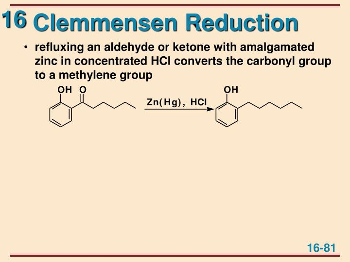 Clemmensen Reduction