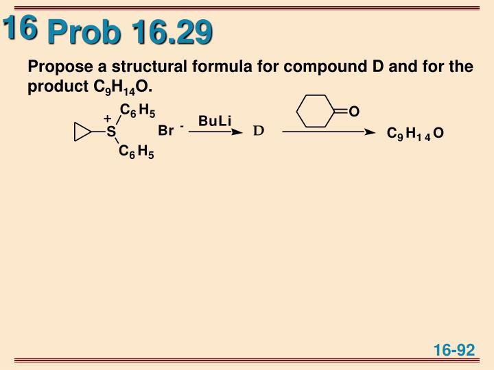Prob 16.29