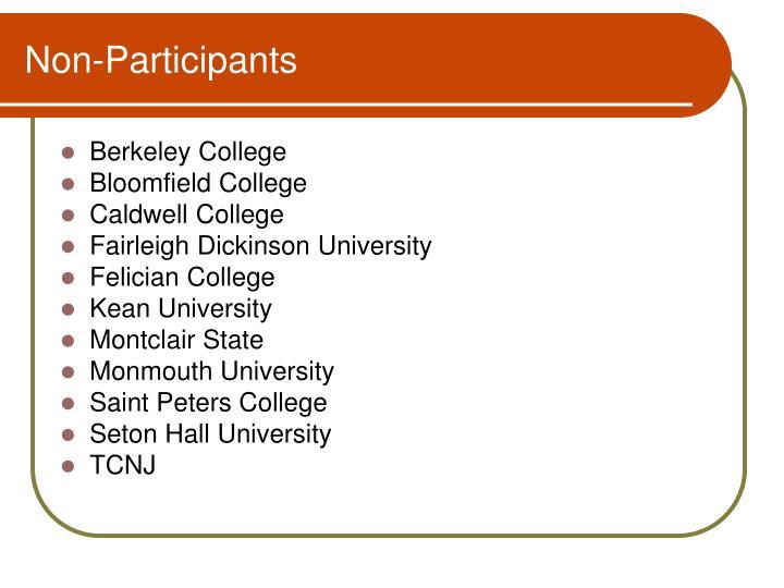 Non-Participants