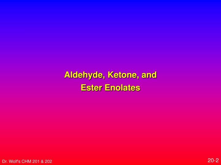Aldehyde