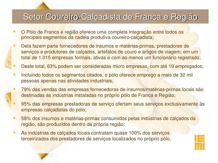 Setor Coureiro-Calçadista de Franca e Região