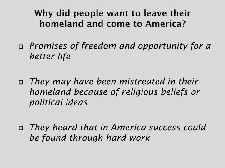 why did people want to come Home essay editing services sample essays why i want to go to the united states beliefs and let the black people be a full why you want to come to america.