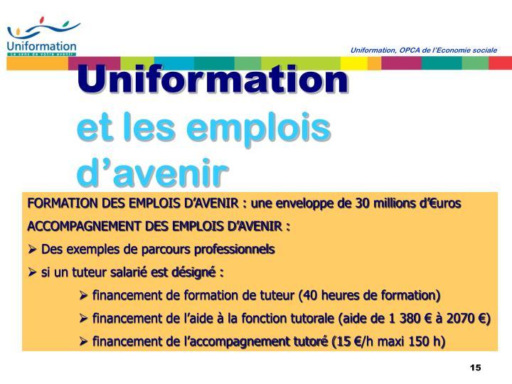 Uniformation, OPCA de l'Economie sociale
