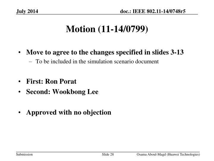 Motion (11-14/0799)