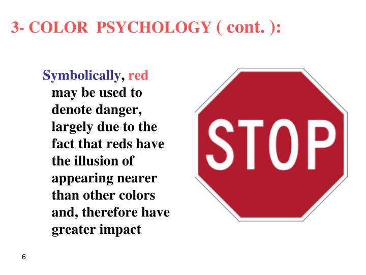 3- COLOR  PSYCHOLOGY
