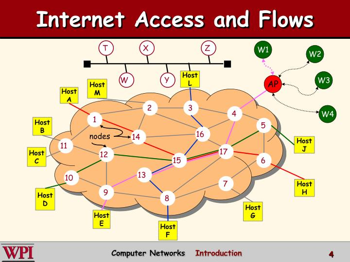 Internet Access and Flows