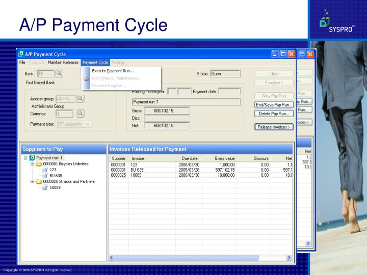 A/P Payment Cycle