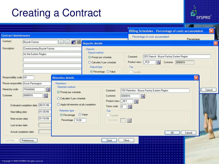 Creating a Contract
