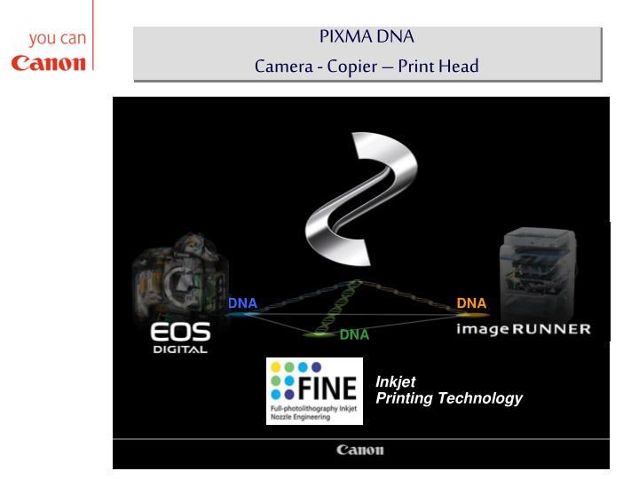 PIXMA DNA