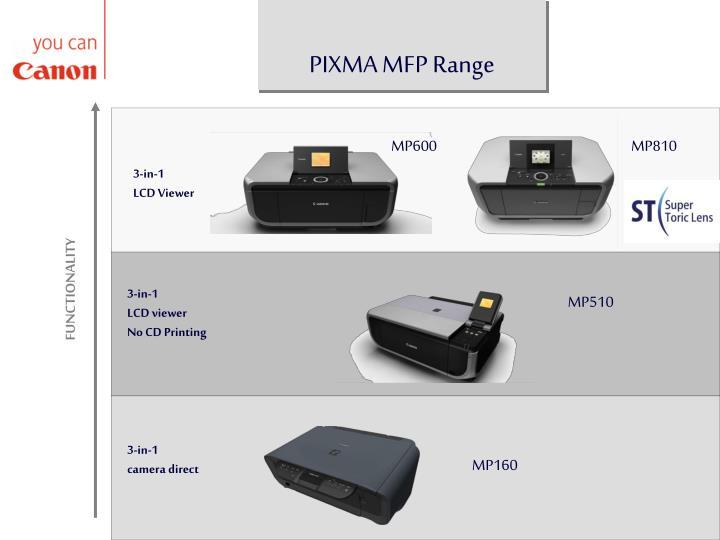 PIXMA MFP Range