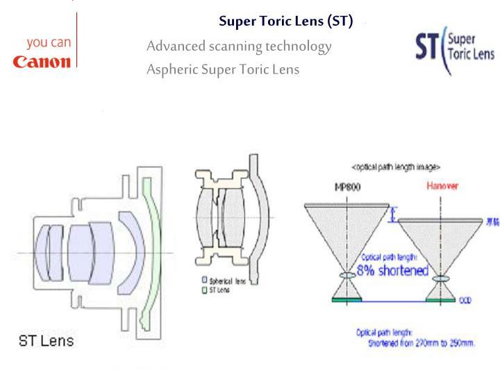 Super Toric Lens (ST)