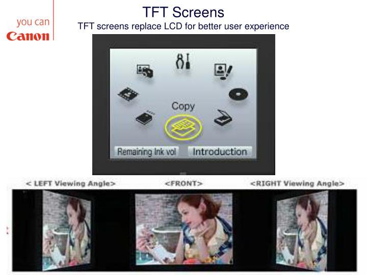 TFT Screens