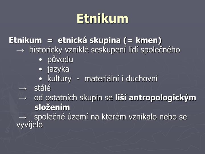 Etnikum