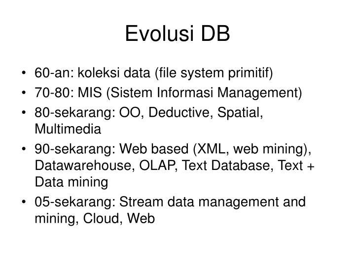 Evolusi DB