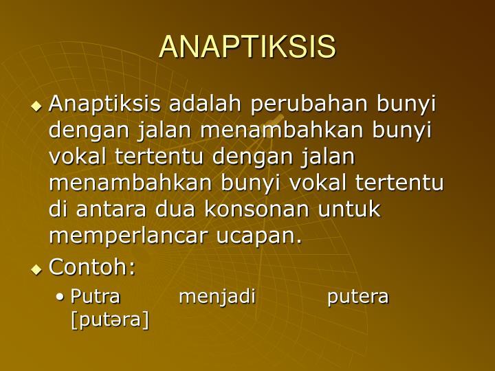 ANAPTIKSIS