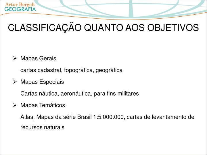 Mapas Gerais
