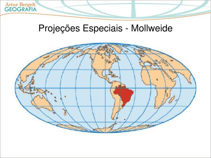 Projeções Especiais - Mollweide