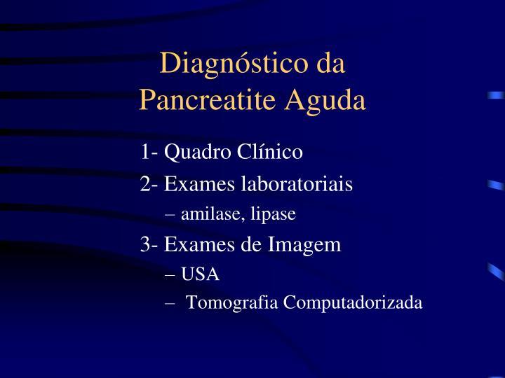 Diagnóstico da
