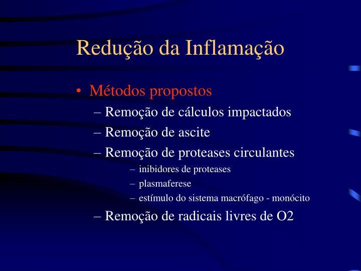 Redução da Inflamação