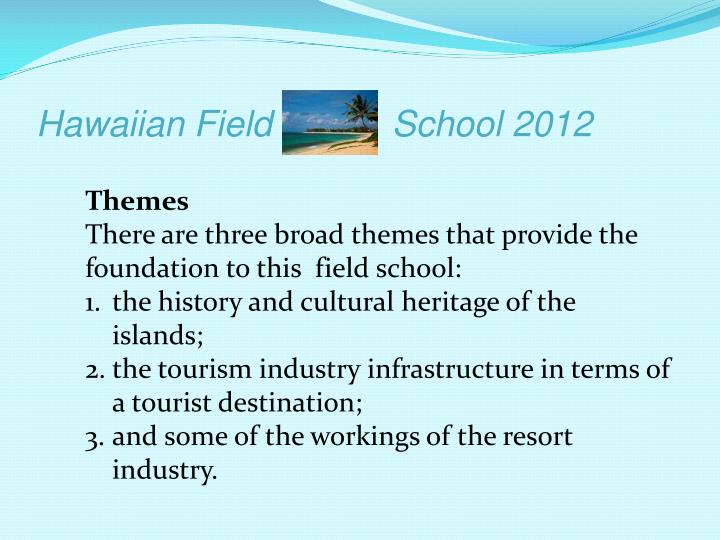Hawaiian field school 20121