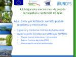 r 2 mejorados mecanismos de gesti n participativa y sostenible de agua1