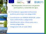 r 2 mejorados mecanismos de gesti n participativa y sostenible de agua2