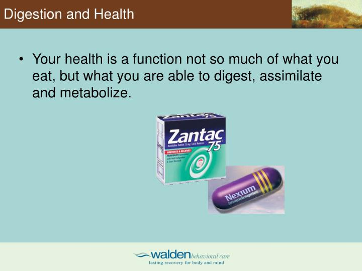 Digestion and Health