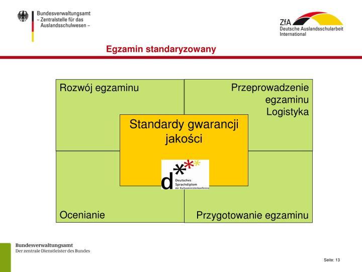 Egzamin standaryzowany