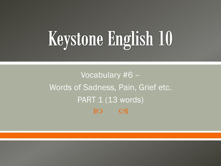 Keystone english 10
